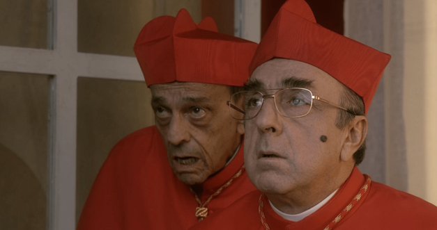 Two cardinals The Young Pope