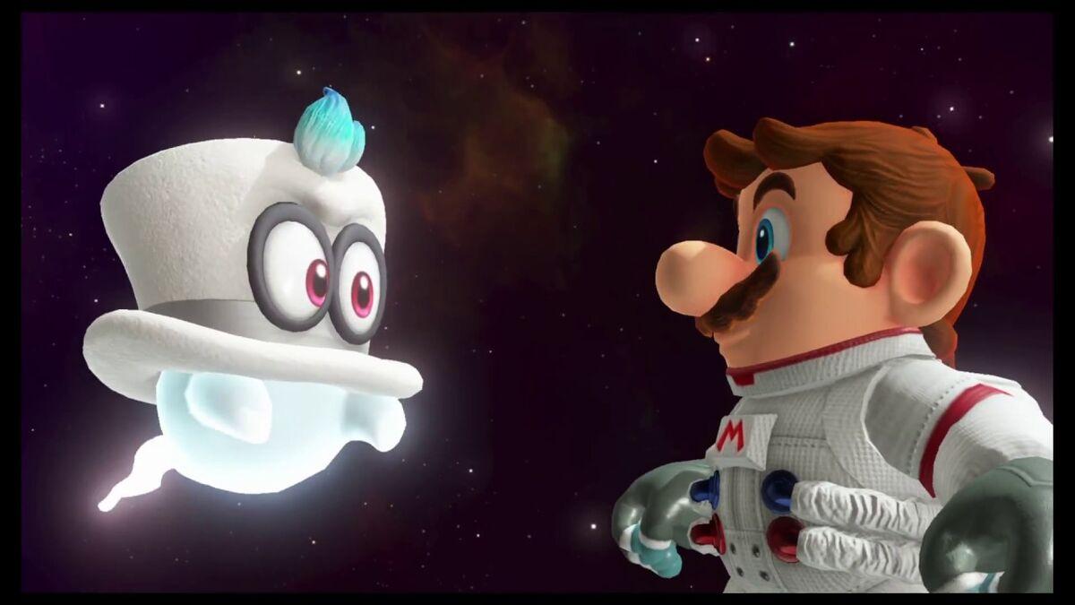 Super Mario Odyssey Moon