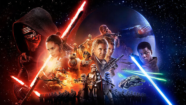 Star Wars: The Force Awakens Poster - Star Wars on TV