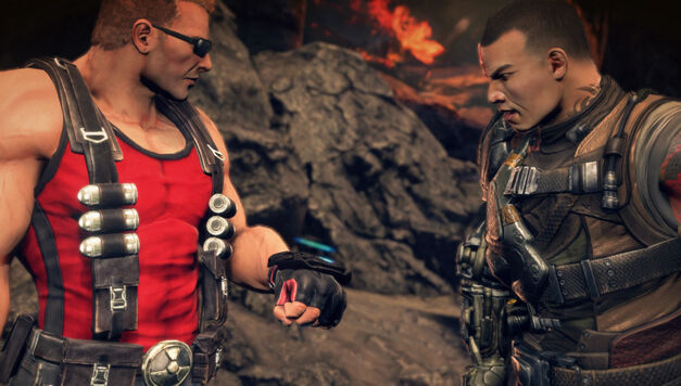Duke Nukem makes for one of the best new additions in Bulletstorm: Full Clip Edition.
