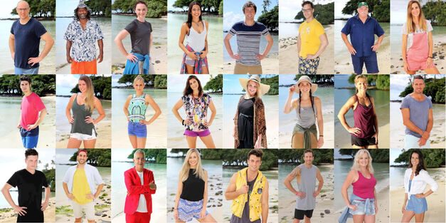 australian survivor full cast