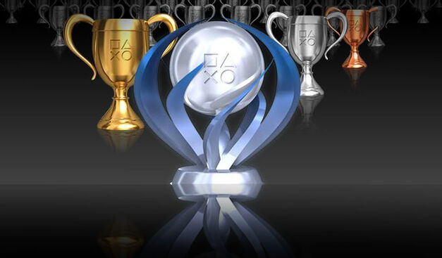 An image of PlayStation Network trophies.