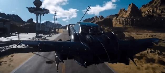 FFXV-FlyingCar
