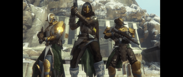 Destiny Rise of Iron Iron Banner sets