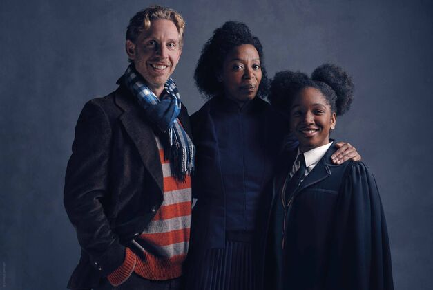Paul_Thornley(ron)_Noma_Dumezweni(Hermione)_Cherrelle_Skeete(Rose)