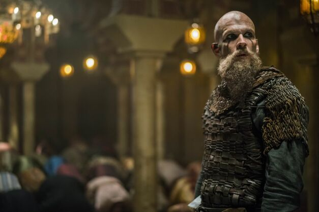 Floki-Vikings-Crossings . (Photo credit: Bernard Walsh)