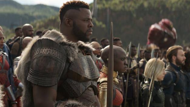 Avengers Infinity War Mbaku Okoye