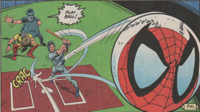 Meanwhile in Canada: 'Deadball! A Spider-Man Story'