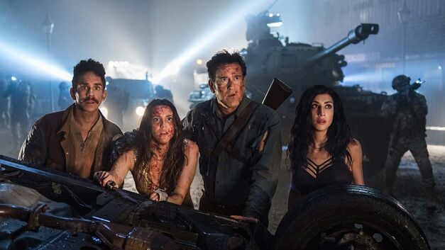 The cast of 'Ash vs Evil Dead'
