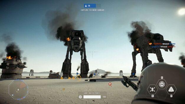 Battlefront II DLC Crait Galactic Assault