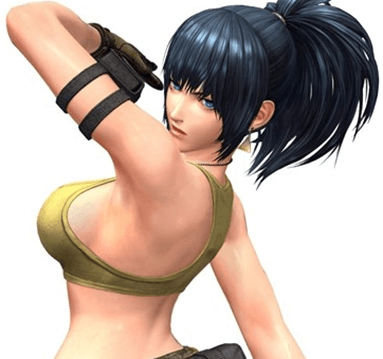 King of Fighters XIV Roster-Leona-kofxiv