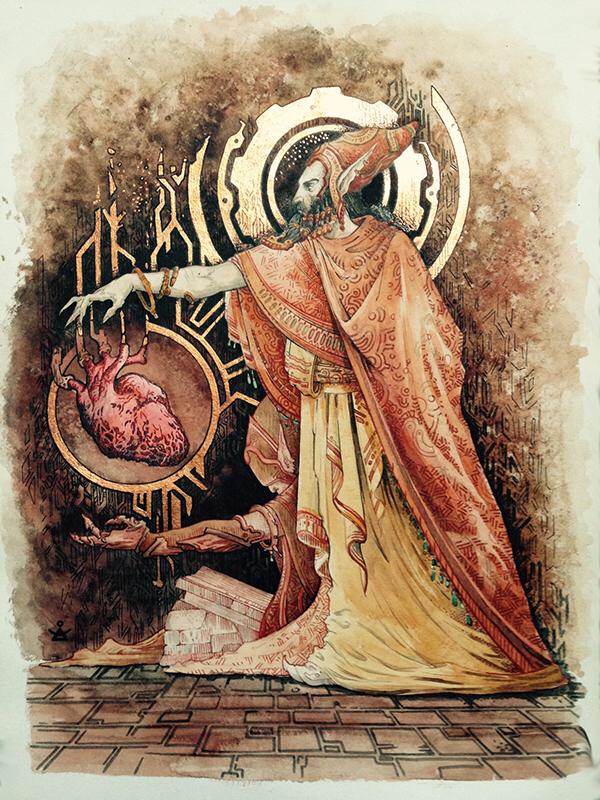 Dwemer high priest's avatar
