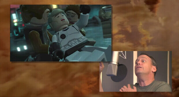 LEGO Star Wars III acting