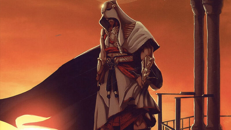Assassin's Creed Empire portrayed in the comics