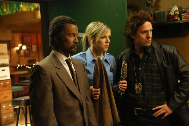 "Mac, Dee, and Dennis in ""The Gang Makes Lethal Weapon 6"""