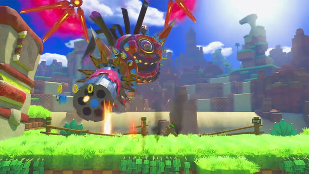 Sonic Forces rings are at the same height as a full jump