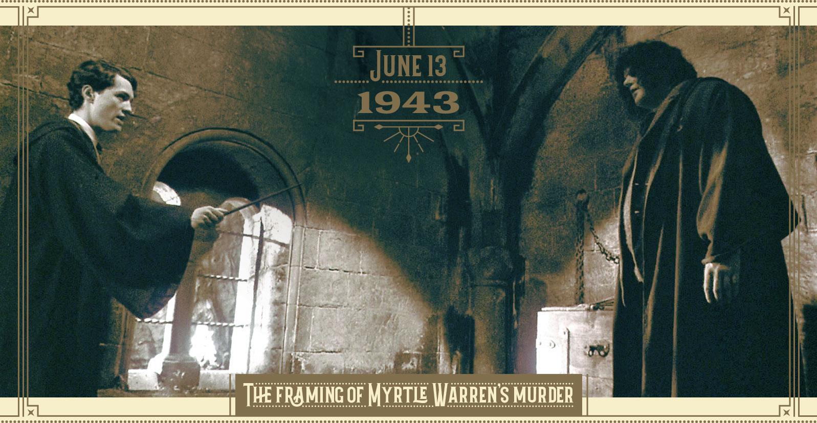 The framing of Myrtle Warren's murder
