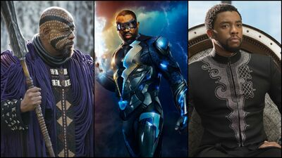 Black Lightning & Black Panther, Leading the Way for Superhero Representation