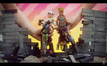 'Trials of the Blood Dragon' Combines Motorcycles and '80s Nostalgia