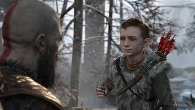 Kratos goes hunting with Atreus