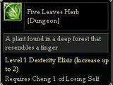 Five Leaves Herb