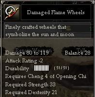 Damaged Flame Wheels