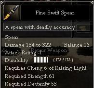 Fine Swift Spear