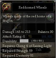 Red-horned Wheels