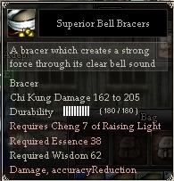 Superior Bell Bracers