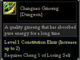 Changnao Ginseng