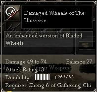 Damaged Wheels of The Universe