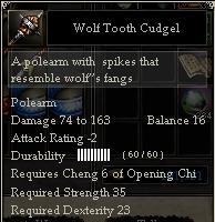 Wolf Tooth Cudgel