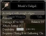 Monk's Cudgel