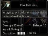Fine Jade Axe