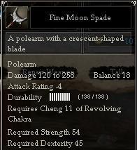 Fine Moon Spade