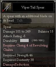 Viper Tail Spear