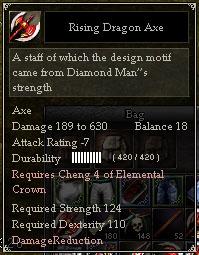 Rising Dragon Axe