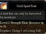 Gold Spirit Fruit
