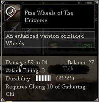 Fine Wheels of The Universe