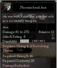 Phoenix-head Axe