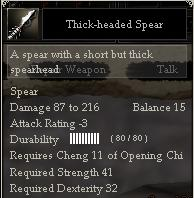 Thick-headed Spear