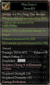 Wan Daye's Diamond Sword