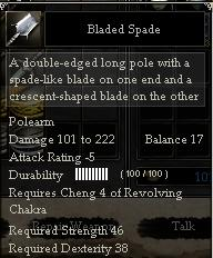 Bladed Spade