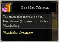 Good Ice Talisman