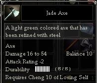 Jade Axe