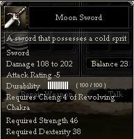 Moon Sword