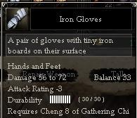Iron Gloves