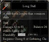 Long Staff