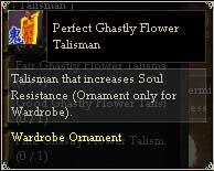 Perfect Ghastly Flower Talisman