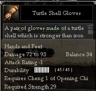 Turtle Shell Gloves